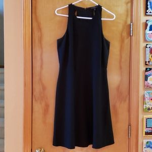 Banana Republic black sheath dress size 10